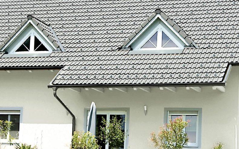 Satteldach mit Dachfenster