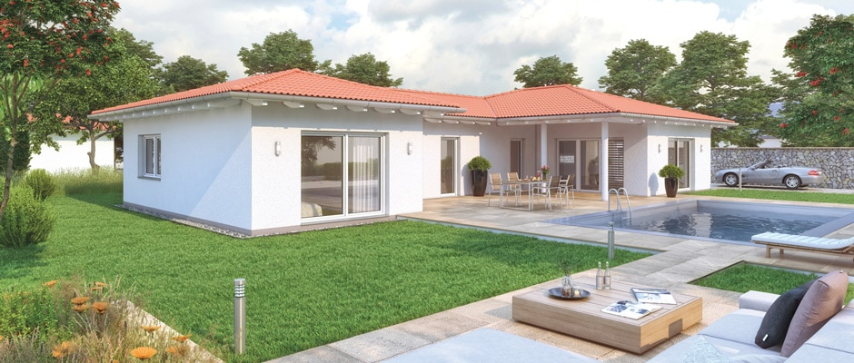 Da bleibt noch zeit zum leben malli haus for Piccoli bungalow piani casa con garage