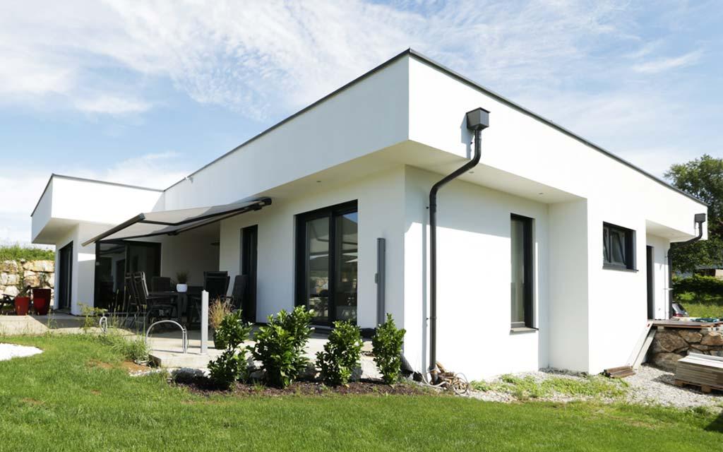 Malli haus mit flachdach individuell malli haus for Flachdachhaus mit garage