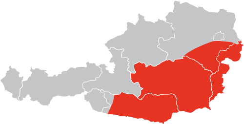 MALL Gebietskarte