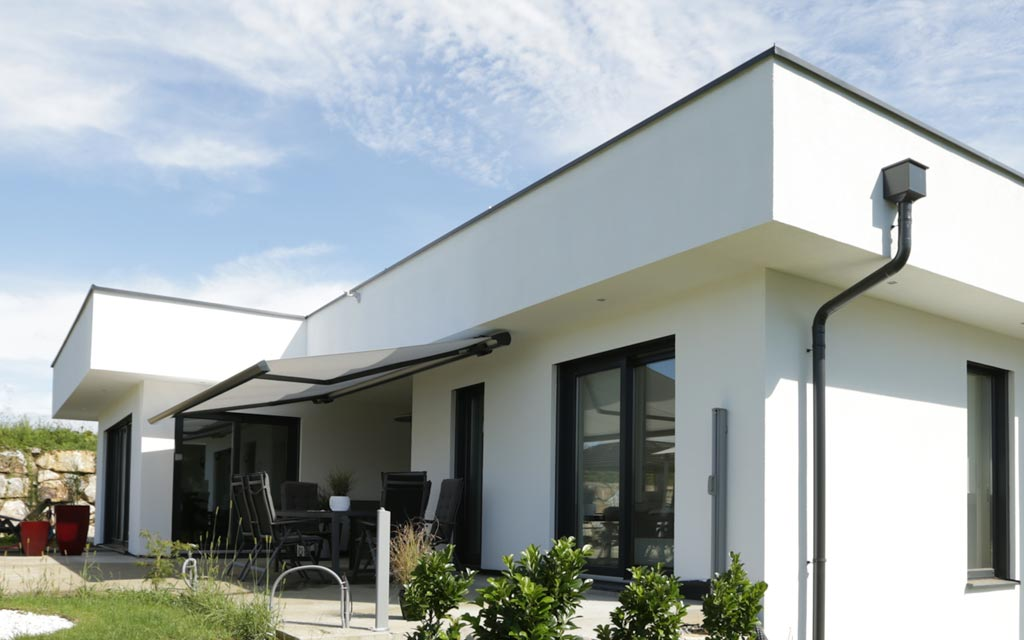 Modernes haus mit flachdach malli haus for Haus modern flachdach