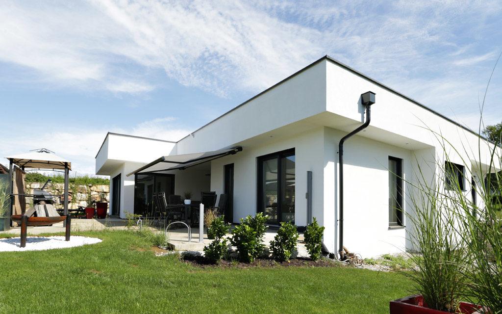Architektenhaus individuell Flachdach