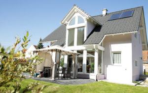 individuelles Architektenhaus Satteldach