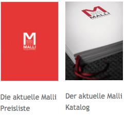 Malli Preisliste Katalog