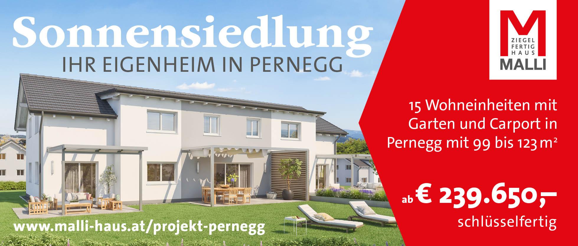 Sonnensiedlung Pernegg - Ihr Haus in Pernegg